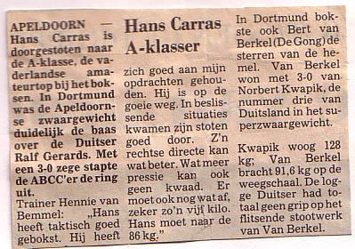 Hans_Carras_A-klasser