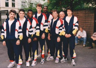 Hennie van Bemmel en WK team 1993