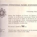 5321969 Uitnodiging namens ministerie van defensie bokswedstrijd17567