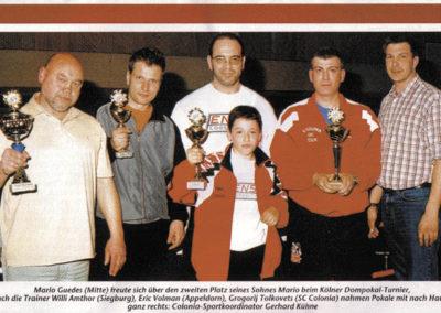 Eric teamprijs boksen abcc