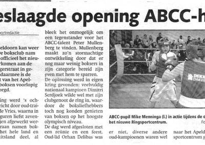 geslaagde opening ABCC huis