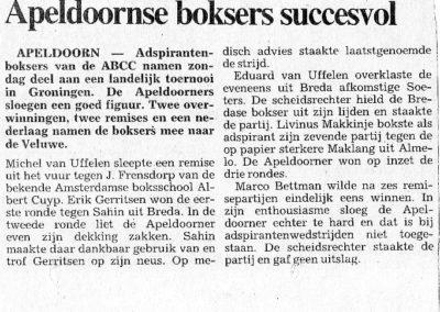 historie_abcc_boksen_Apeldoornse_boksers_succesvol